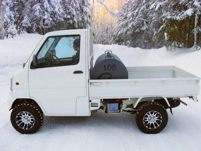 Mitsubishi-fuel-truck